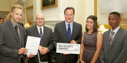 Big Society Awards 2013, with David Cameron