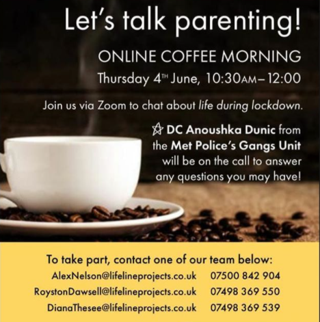 advert for parents' morning
